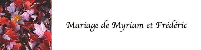Mariagemyriametfred